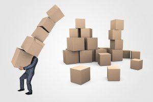 Colorado relocation with boxes.