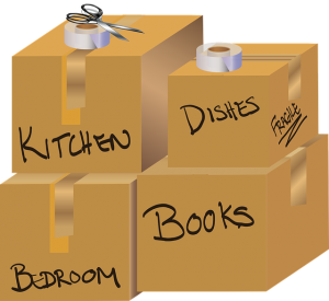 Moving boxes - pack smartly to speed up the moving process