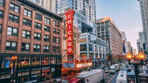 Chicago street.
