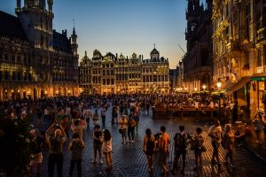 Brussels, one of the cities to live when moving to Belgium.
