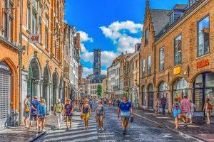 A street in Belgium.