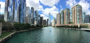 A view of Chicago, as exploring the city is one of the smart ways to help your kids adjust.