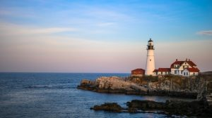 a lighthouse in Portland you can visit after moving to the East Coast