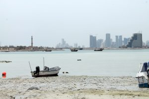 The city view of Manama, one of the best best Bahrain cities for ex-pats.