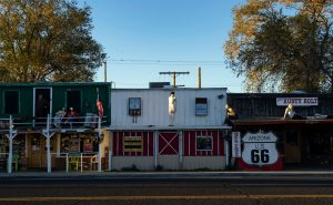 A small town in Arizona. One of the Californian retirees' favorite US towns.