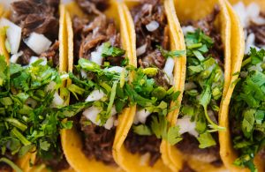 Mexican tacos.